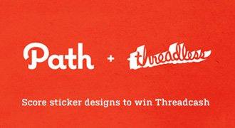 Score digital sticker designs to win Threadcash