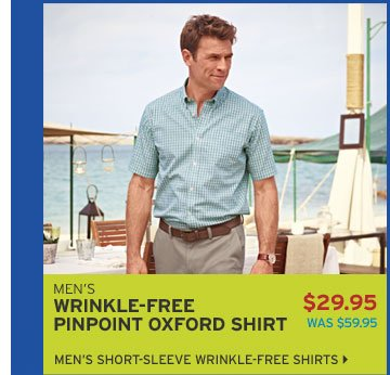 Shop Men's Wrinkle-Free Shirts