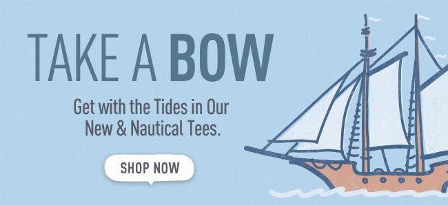 Shop the Nautical Collection