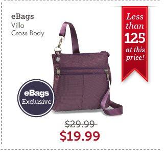 eBags Villa Cross Body. Shop Now.
