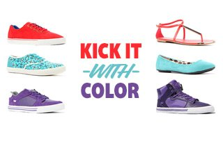 Kick It With Color