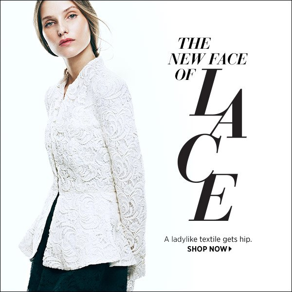 Ladylike lace gets hip! See the coolest ways to wear it this season. Shop now >>