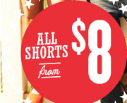 ALL SHORTS from $8
