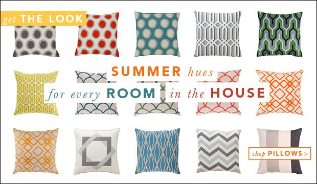 Summer hues for every Room in the House