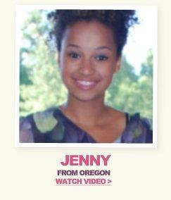 Model Search Winner Jenny - Watch Video