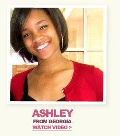 Model Search Winner Ashley - Watch Video
