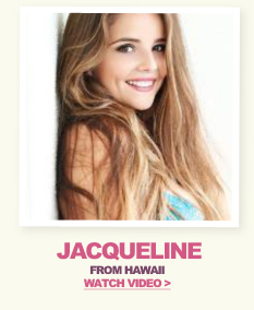 Model Search Winner Jacqueline - Watch Video
