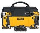 DEWALT 2-Tool Max-Volt Cordless Combo Kit