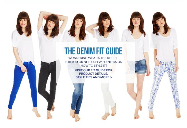 See the Fit Guide for Fit & Styling Advice