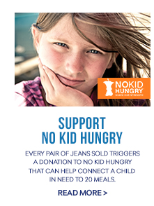 Our Denim Supports No Kid Hungry