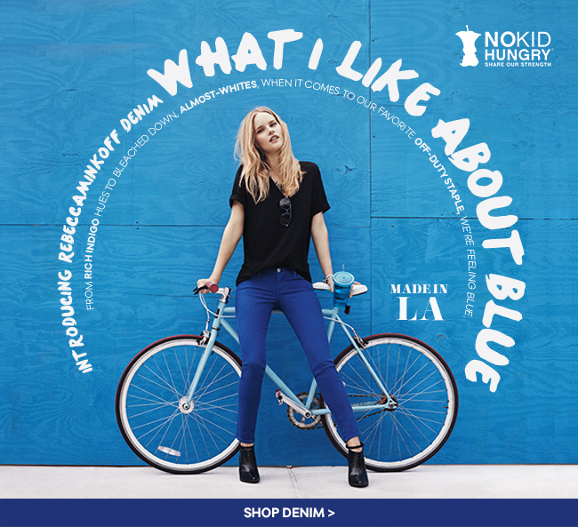 Introducing Rebecca Minkoff Denim - What I Like About Blue