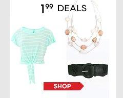 Hurry, shop all $1.99 Deals!
