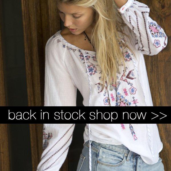 Back in Stock!