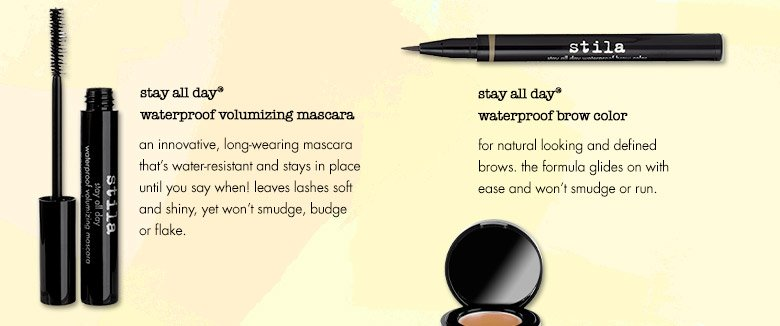 stila has the secret to keeping your makeup in place during the hot and humid summer months.