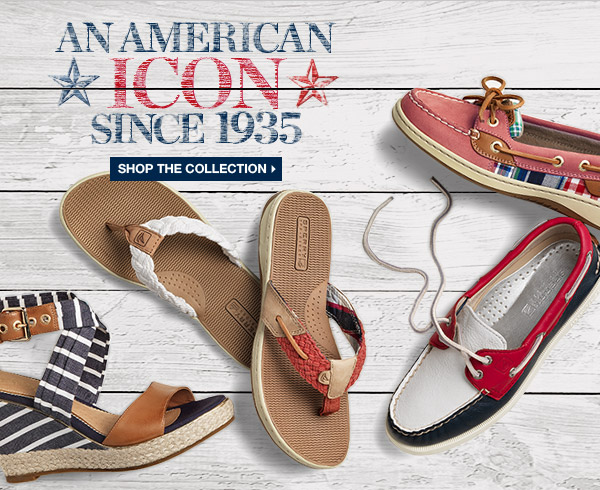 AN AMERICAN ICON SINCE 1935 | SHOP THE COLLECTION >