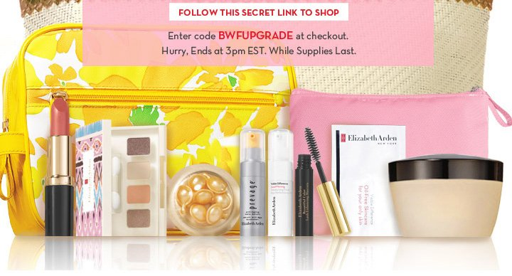 FOLLOW THIS SECRET LINK TO SHOP. Enter code BWFUPGRADE at checkout. Hurry, Ends at 3pm EST. While Supplies Last.