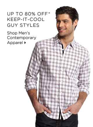 Up To 80% Off* Keep-It-Cool Guy Styles