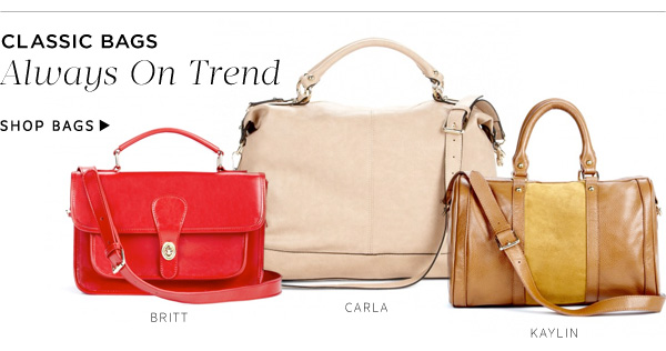 Classic Bags: Always On Trend. Shop Bags