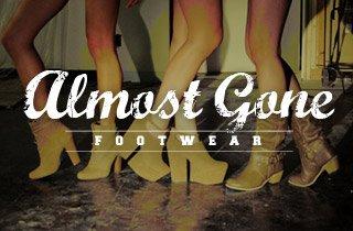 Almost Gone: Footwear