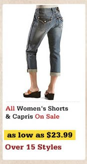 Womens Shorts and Capris on Sale