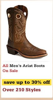 Mens Ariat Boots on Sale