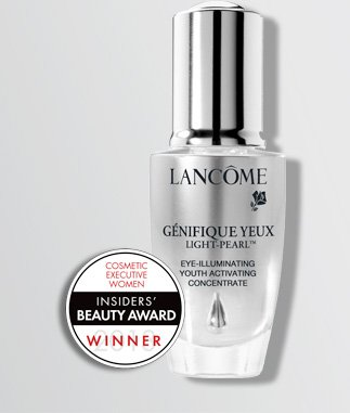 GENIFIQUE EYE LIGHT-PEARL(TM) | EYE-ILLUMINATING YOUTH ACTIVATING CONCENTRATE | COSMETIC EXECUTIVE WOMEN | INSIDERS' BEAUTY AWARD WINNER
