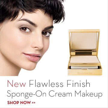 New Flawless Finish Sponge-On Cream Makeup. SHOP NOW.