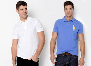Polo Shirts For Him by Ralph Lauren, Hugo Boss & more