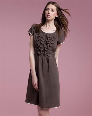 Tonala Ruffle 100% Cotton Dress