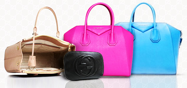 Givenchy, Gucci, Prada & More Handbags