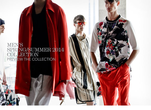 Men's Spring/Summer 2014 Collection Preview