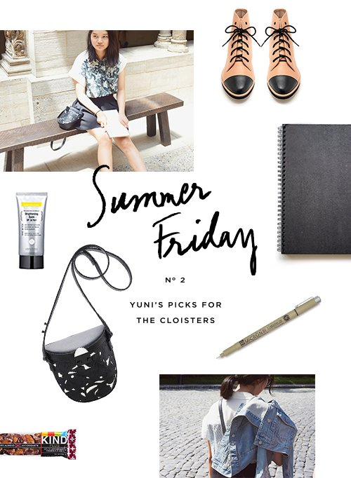 Escape to the LR Blog for Yuni's Summer Friday story.