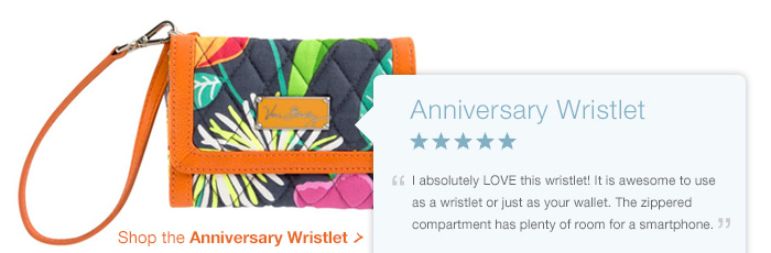 Shop the Anniversary Wristlet