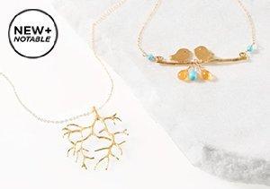 New + Notable: Rafia Jewelry