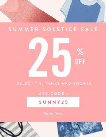 Solstice Sale