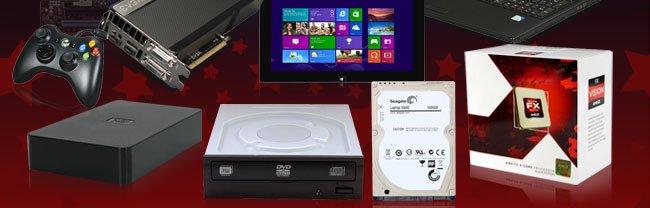 VGA, Xbox, Tablet, HDD, ODD, CPU