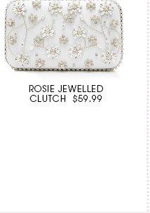 Rosie jewelled clutch