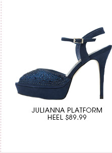 Julianna platform heel