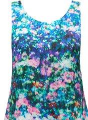 Laney floral shift dress