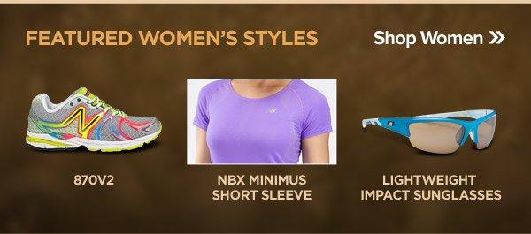 Featured Women's Styles