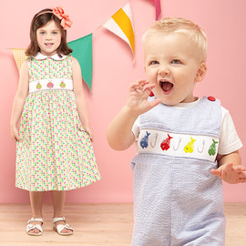 Timeless & Charming: Kids' Apparel
