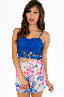 LACEY BUSTIER CROPPED TOP 35
