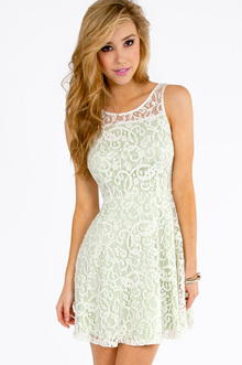 LIANNA LACE SKATER DRESS 29