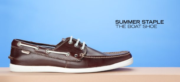 SUMMER STAPLE: THE BOAT SHOE, Event Ends July 3, 9:00 AM PT >