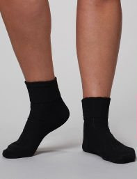 Scallop Ribbed Ankle Socks