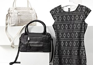 Marc New York: Dresses & Handbags