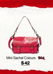 Mini Sachel Colours