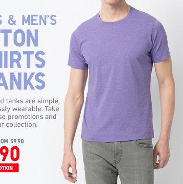 COTTON TSHIRTS MEN