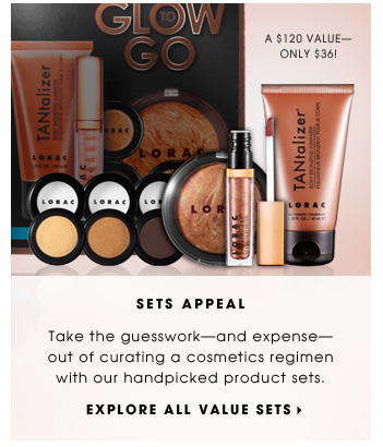 Sets Appeal. Take the guesswork-and expense- out of curating a cosmetics regimen with our handpicked product sets. Explore all value sets.
