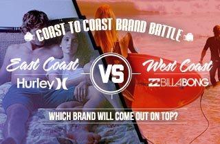 Hurley VS. Billabong